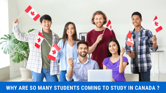 Why are so many Students coming to Study in Canada?