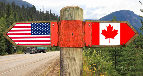 Migrate from USA to Canada