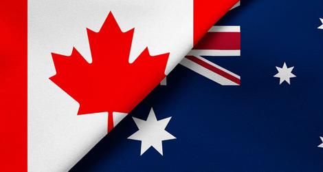 Australia From Canada