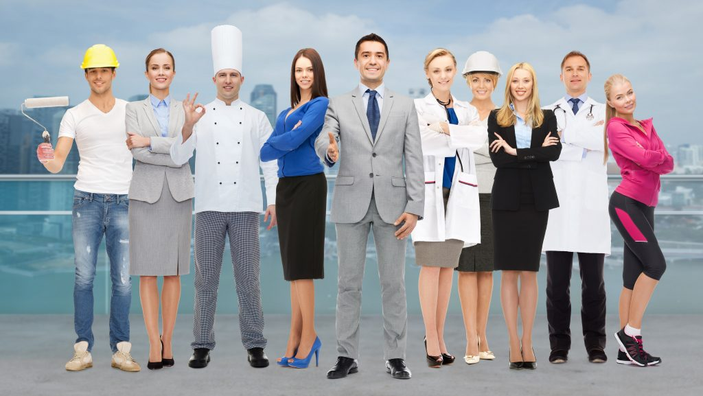 People,,Profession,,Qualification,,Employment,And,Success,Concept,-,Happy,Businessman