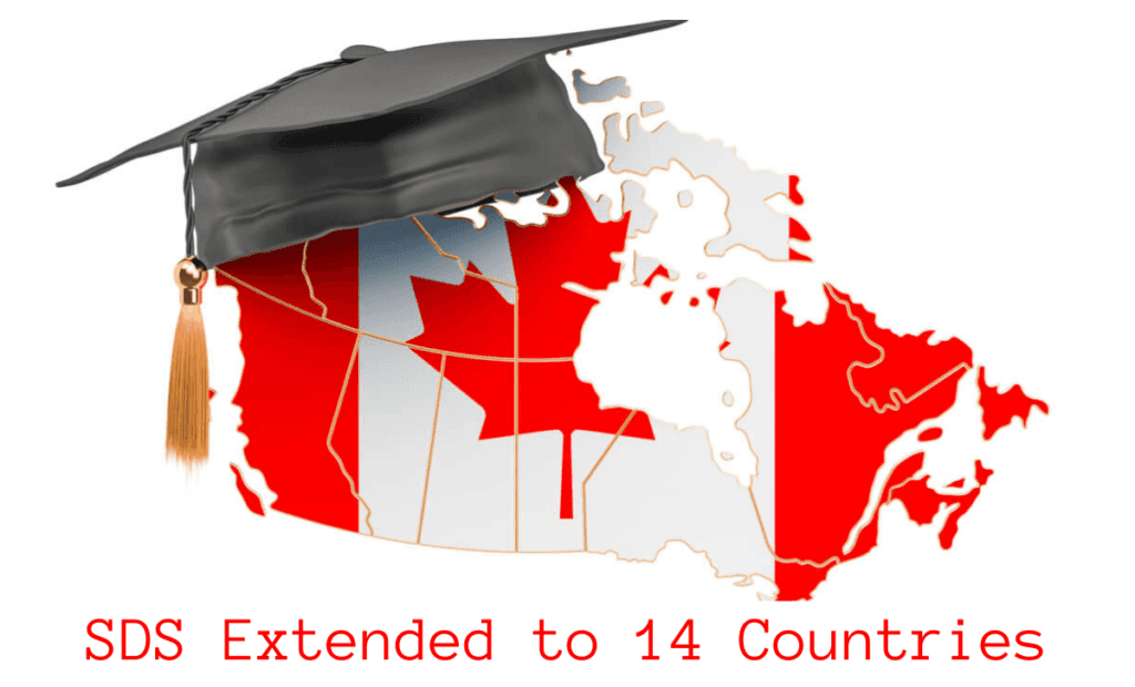 Canada extends the Student Direct Stream to Seven more Countries